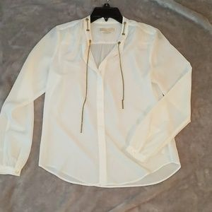 Michael Kors Blouse with gold chain